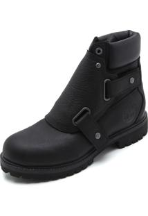 Bota Couro Timberland 6 Premium Foundry Boot Preta
