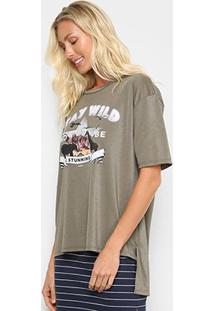 Camiseta Sommer Stay Wild Feminina - Feminino