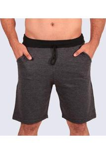 Bermuda Plus Size Moletom Mz Authentic Masculino - Masculino