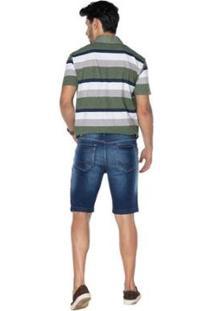 Bermuda La Portt Masculina - Masculino-Jeans