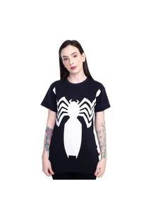 Camiseta Venom Uniforme Preto