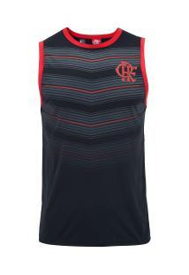 Camiseta Regata Do Flamengo Dinamic 19 - Masculina - Preto