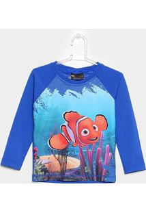 Camiseta Infantil Tip Top Estampa Nemo - Masculino-Azul Royal