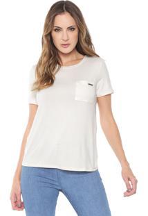Camiseta Lança Perfume Bolso Off-White
