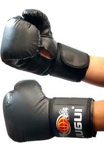 656c8125d Luva Boxe Muay Thai Kickboxing Combate Importadojugui - 12Oz - Unissex