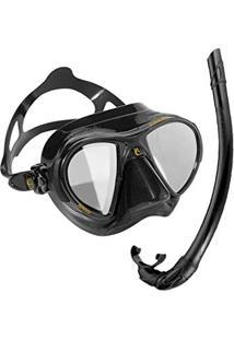 cc802e097 Máscara De Mergulho Silicone Nano Hd Espelhado Cressi