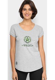 Camiseta Jeep Renegade Willys Limited Edition Feminina - Feminino