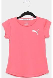 Camiseta Infantil Puma Active G Feminina - Feminino