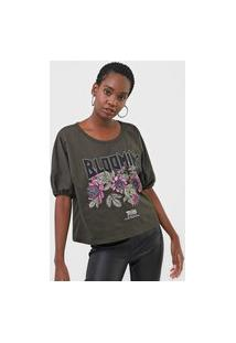Camiseta Triton Blooming Verde