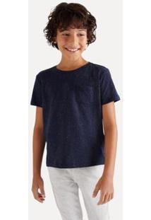 Camiseta Mini Sm Galatiico Inv20 Reserva Mini Infantil - Masculino-Marinho