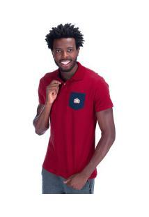 Camisa Polo Fatal Estampada 22262 - Masculina - Vermelho