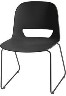 Cadeira Kind Base Fixa Preta - 54057 - Sun House
