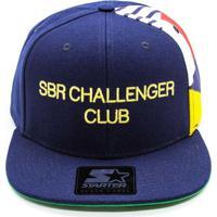 Boné Aba Reta Starter Challenger Azul 4cb83426857