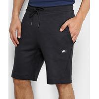 7f206bfb7e Bermuda Nike Sportswear Optic Fleece Masculina - Masculino