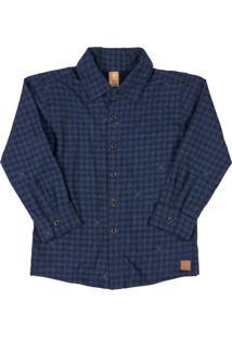 Camisa Losango Azul