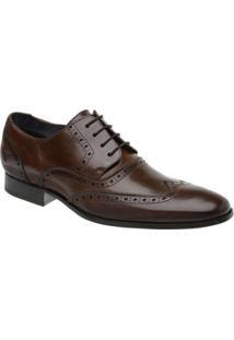 Sapato Social Couro Oxford Malbork Masculino - Masculino