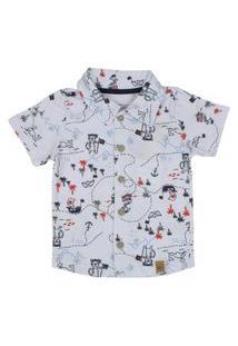 Camisa Manga Curta Alakazoo