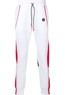 Philipp Plein Calça Esportiva L'Homme - Branco