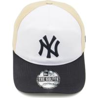 Boné New Era New York Yankees Branco Bege 616493bddd7