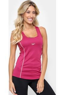 88c30b277ea5d Camiseta Regata Speedo Rust Com Proteção Uv - Feminino