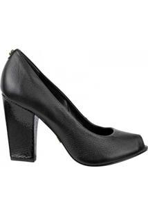 Sapato Peep Toe Jorge Bischoff - Feminino