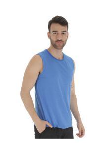 Camiseta Regata Oxer Sound New - Masculina - Azul