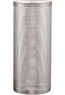 Vaso Decorativo Udyr Prata 10 Cm