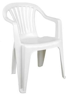 Cadeira De Plástico Vila Boa Vista Branca Antares