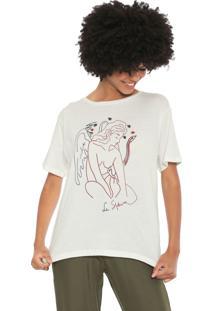 Camiseta Cantão Esfinge Off-White - Kanui