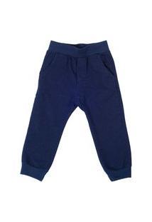 Calça De Moletom Jeans Infantil Lazy
