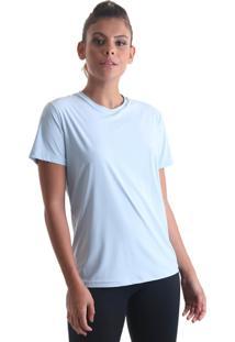 Camiseta Cores Azul Claro Praaiah