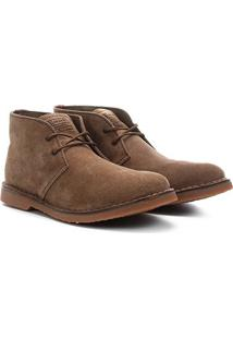 Sapato Couro Kildare Camurção Cano Médio Masculino - Masculino