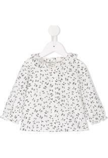 Bonpoint Camisa 'Jojoba' - Branco
