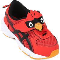 7e1c5ba303 Tênis Asics Animal Pack Infantil - Masculino-Vermelho+Preto