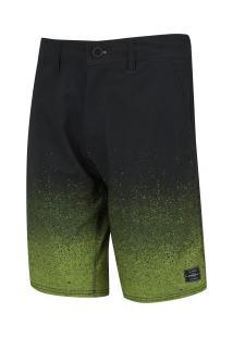 Bermuda O'Neill Hibrido 8743A - Masculina - Preto/Verde
