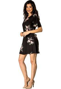 Vestido Estampa Floral Handbook