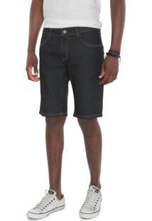 Bermuda Jeans Triton Reta Yuri Azul-Marinho