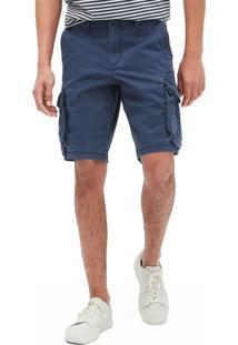 Bermuda Jeans Gap Cargo Lisa Azul - Kanui