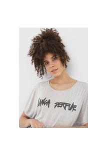 Camiseta Lança Perfume Aplicações Cinza