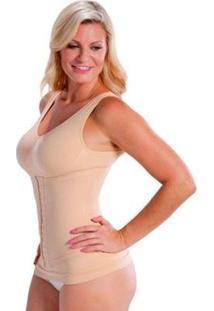 Cinta Camiseta Modeladora Redutora Slim Comfy - Feminino