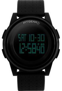 Relógio Fitgear Digital Urano Preto
