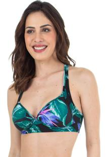 Top Estampado Push Up Folhagem | 524.805
