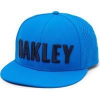 Boné Oakley Perf Hat - Masculino-Azul 821aa179f31