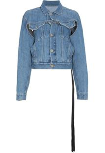 Unravel Project Jaqueta Jeans - Azul