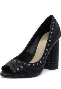 b9f6f3a3f Peep Toe Animal Print Verniz feminino   Shoes4you