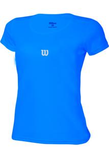 Camiseta Wilson Core Azul