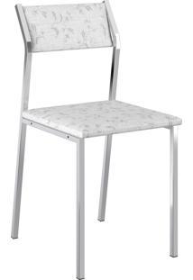 Kit 2 Cadeiras 1709 Napa Mã³Veis Carraro Branco - Branco - Dafiti