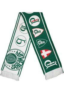 Cachecol Palmeiras Brasões - Unissex