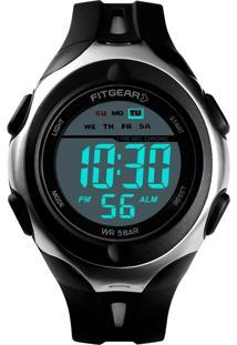 Relógio Fitgear Digital Aton Preto