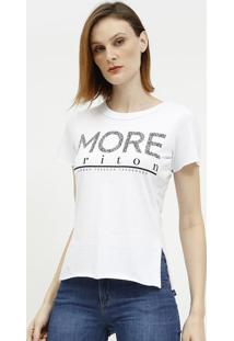 """Camiseta """"More Triton""""- Branca & Preta- Tritonforum"""